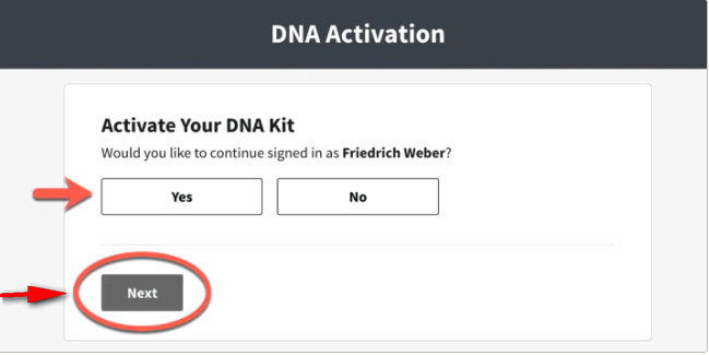 Ancestry DNA 1