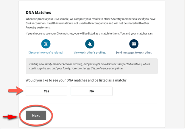 Ancestry DNA 8